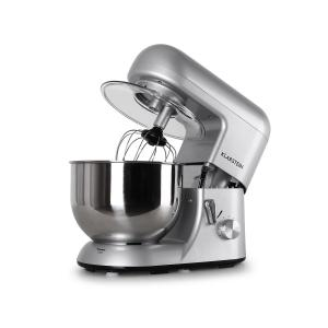 Bella Argentea kitchen machine 1200W 1.6 HP 5.5 qt. Silver Silver