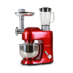 Lucia Rossa Stirring machine Meat-grinder Mixer 1200W 1.6 HP 5 qt red Red