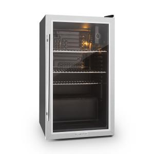 Beersafe XXL Beverage Cooler 2.9 cft eco-friendly Glass Door Stainless Steel